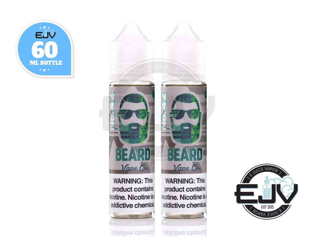 No. 42 by Beard Vape 120ml Discontinued Discontinued