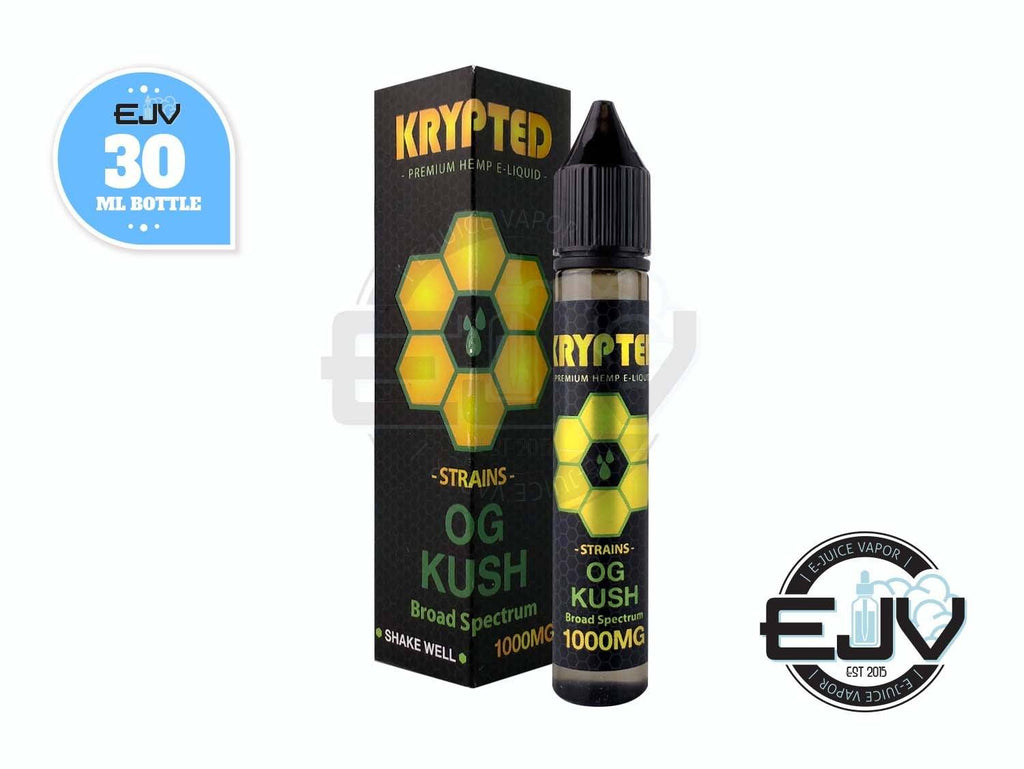 OG Kush by Krypted CBD Vape Juice 30ml CBD Krypted CBD