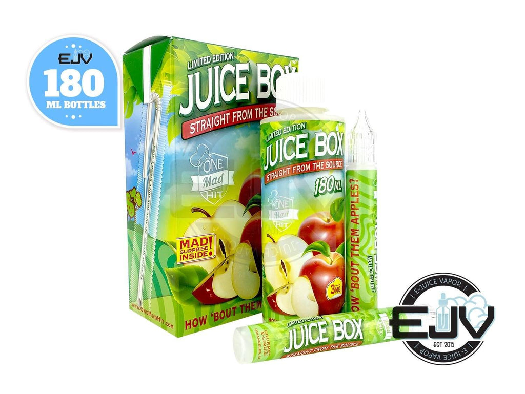 Juice Box by One Mad Hit 180ml Discontinued Discontinued 0mg
