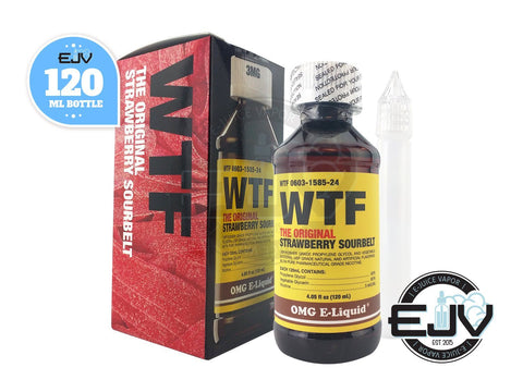 WTF by OMG E-Liquid 120ml