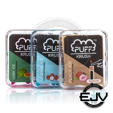 PUFF KRUSH Add-On Pre-filled Pods - (4 Pack) Vape Accessories Puff