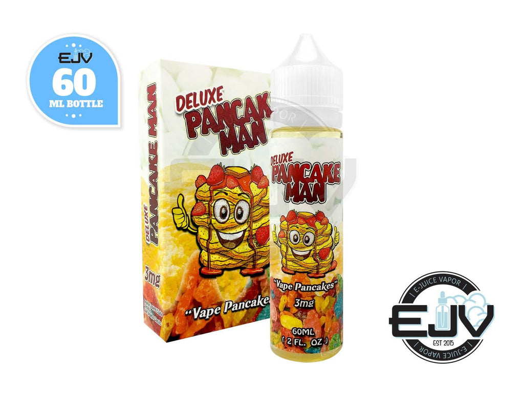 Deluxe Pancake Man by Vape Breakfast Classics 60ml Discontinued Discontinued