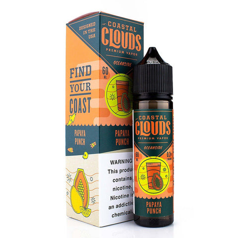 Tropical Lemonade by Coastal Clouds 60ml - (Papaya Punch) E-Juice Coastal Clouds