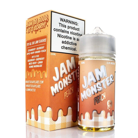 Peach by Jam Monster 100ml E-Juice Jam Monster