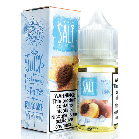 Peach ICE by Skwezed Salt 30ml Nicotine Salt Skwezed Salt