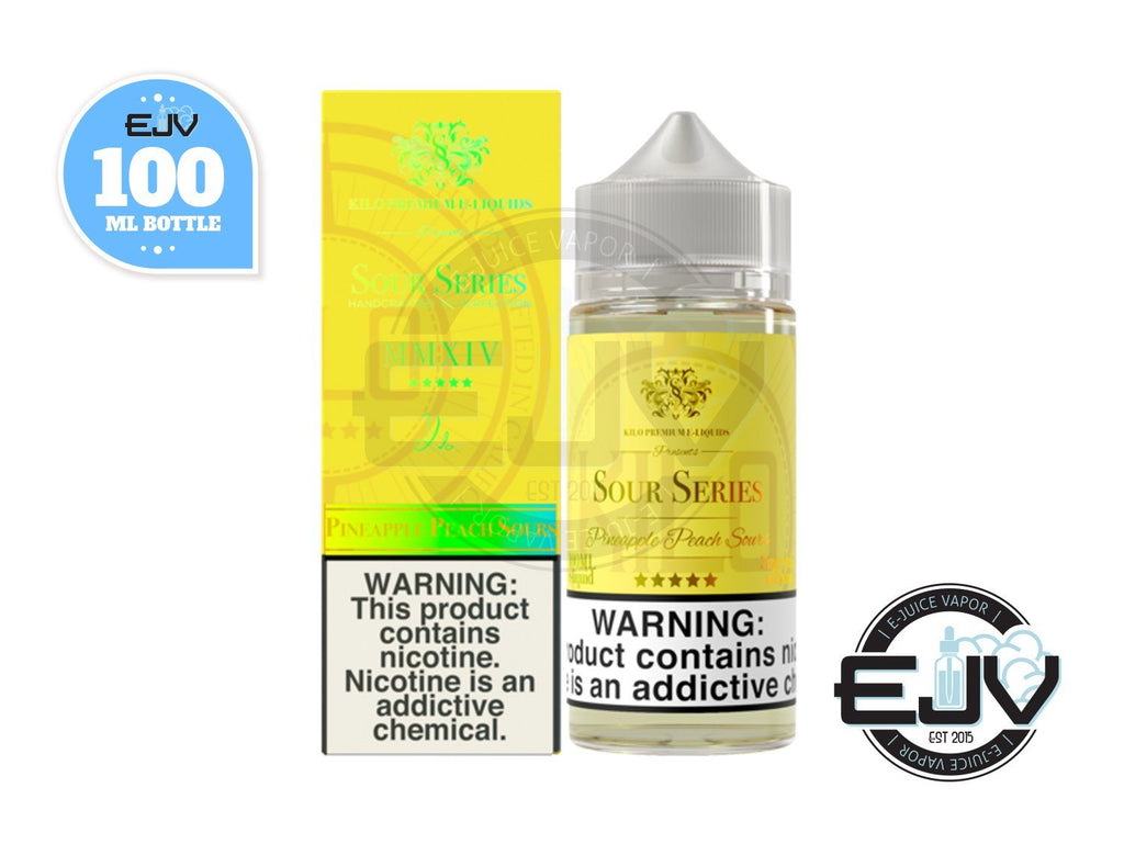 Pineapple Peach Sours by Kilo Sour Series 100ml E-Juice Kilo Sour Series