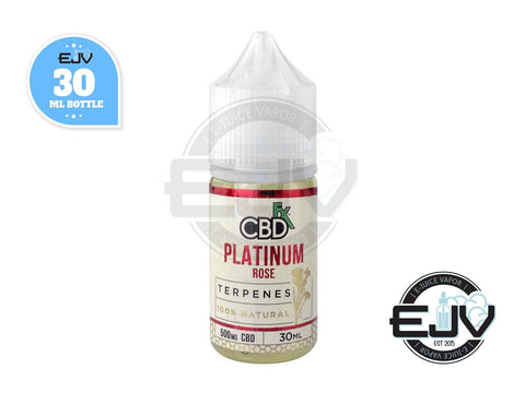 Platinum Rose CBD Terpenes Oil by CBDfx 30ml CBD CBDfx