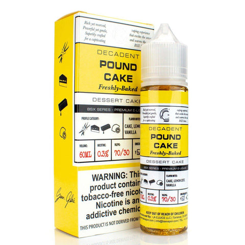 Pound Cake by Glas Basix Series 60ml E-Juice Glas Basix Series