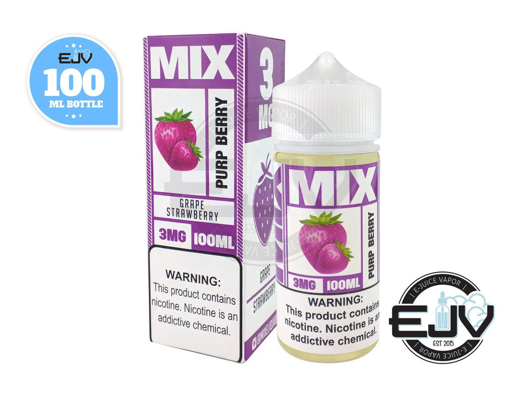 Purp Berry by Mix E-Liquid 100ml Discontinued Discontinued