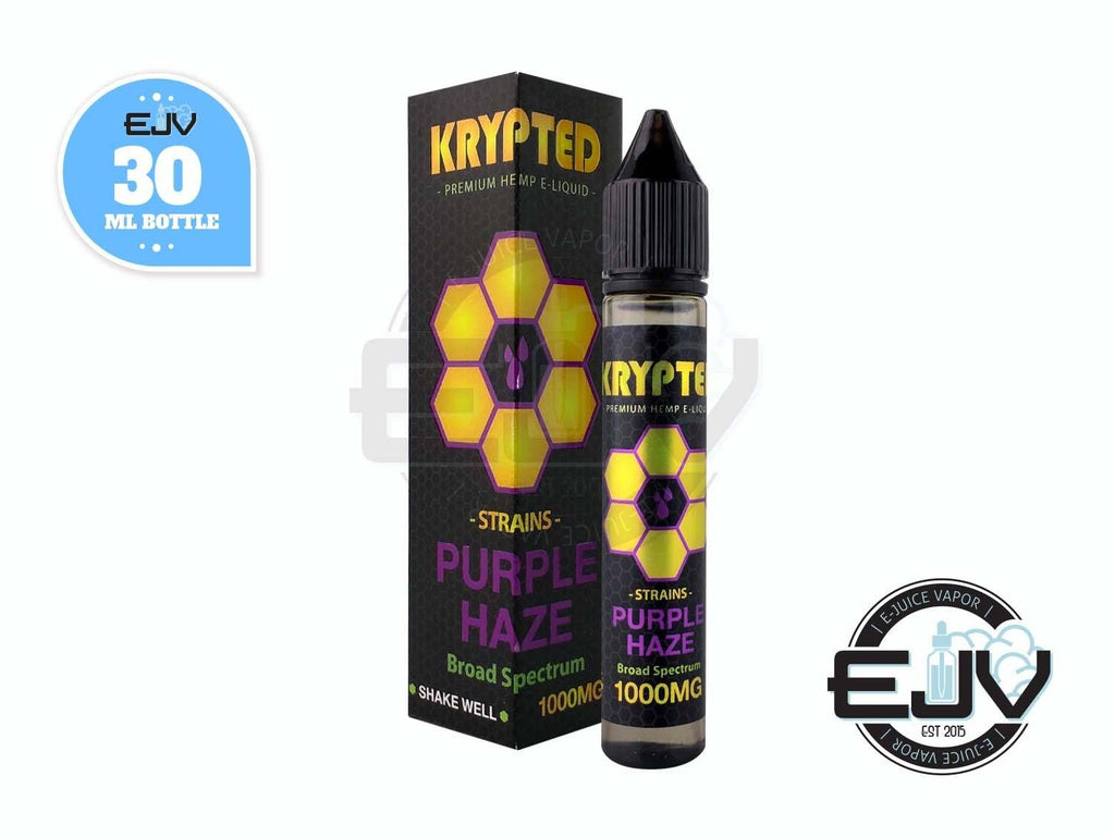 Purple Haze by Krypted CBD Vape Juice 30ml CBD Krypted CBD