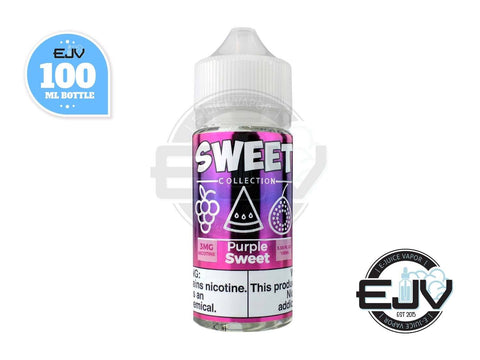Purple Sweet by Sweet Collection 100ml E-Juice Sweet Collection