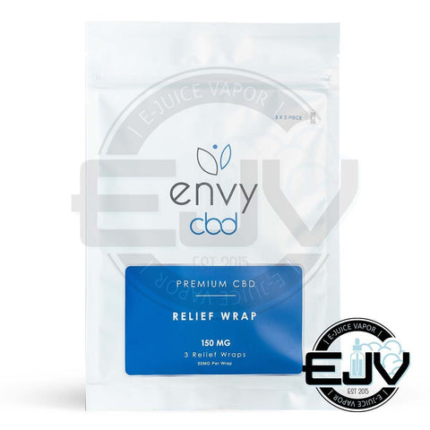 Envy CBD Relief Wraps (3-Pack) - 150mg CBD Envy CBD