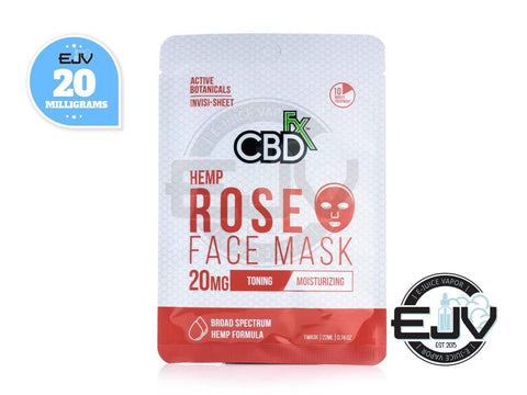 CBDfx CBD Rose Face Mask - 20mg CBD CBDfx
