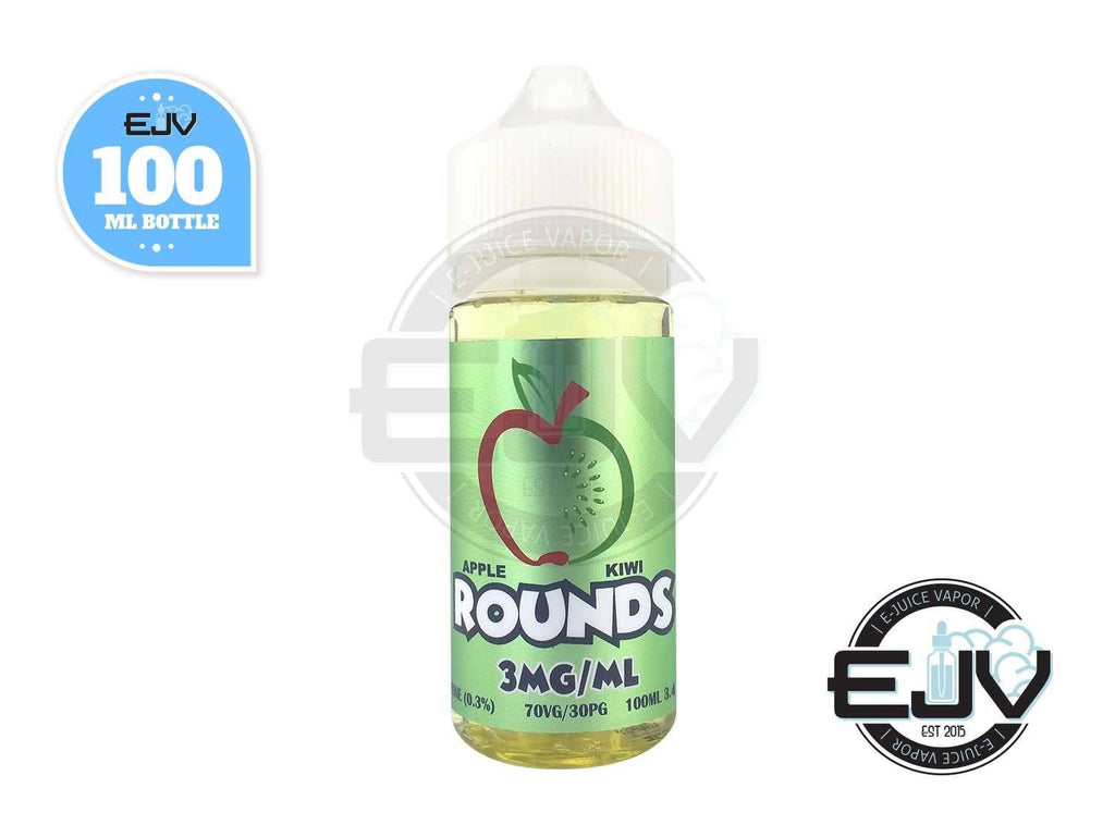 Apple Kiwi by Rounds E-Liquid 100ml Discontinued Discontinued