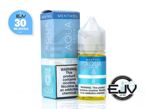 Rush Ice by AQUA E-Juice Salts 30ml Nicotine Salt AQUA E-Juice Salts
