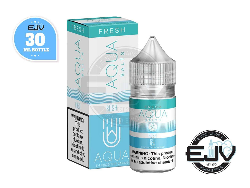 Rush (Blue Razz) by AQUA E-Juice Salts 30ml Nicotine Salt AQUA E-Juice Salts