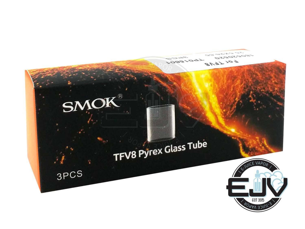 SMOK TFV8 Replacement Pyrex Glass - (3 Pack) Vape Accessories SMOK TFV8 Cloud Beast
