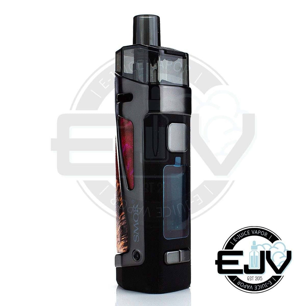 SMOK SCAR-P3 80W Pod Mod Kit MTL SMOK Red Stabilizing Wood