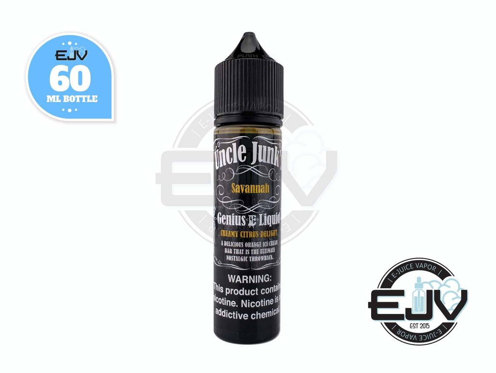 Savannah by Uncle Junk's EJuice 60ml E-Juice Uncle Junk's