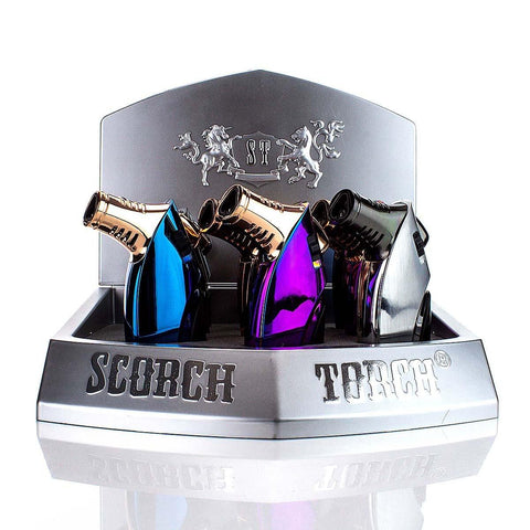 Scorch Torch 45 Degree Triple with Cigar Punch 61537 Torches Scorch Torch