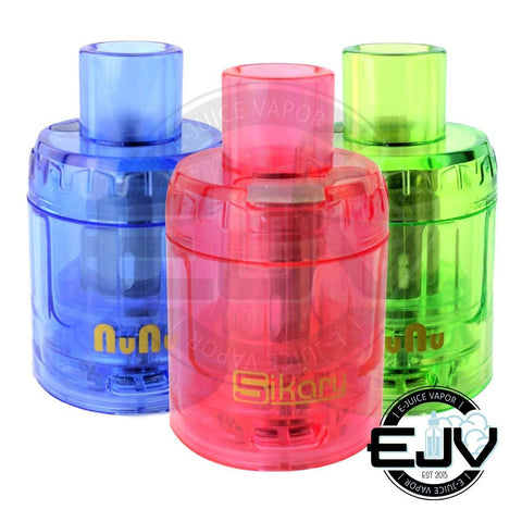 SikaryUSA NuNu Disposable Tank (3-PK) Sub Ohm Tank SikaryUSA