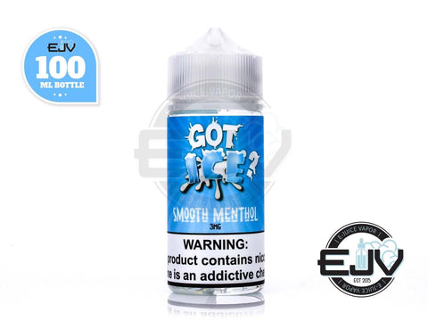 Smooth Menthol by GOT Ice 100ml E-Juice GOT E-Liquid