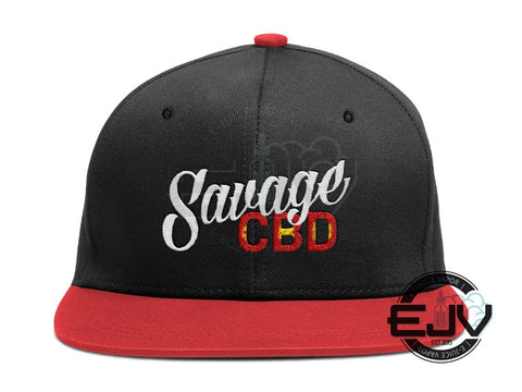 Savage CBD Snapback Savage CBD Apparel Savage CBD