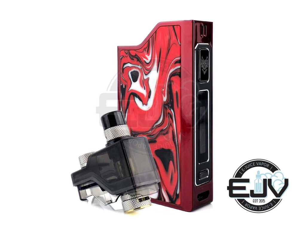 Snowwolf Wocket Pod Kit MTL SnowWolf Lava Red