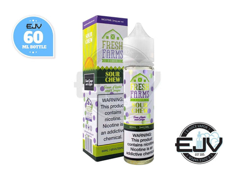 Sour Chew by Fresh Farms E-Liquid 60ml E-Juice Fresh Farms E-Liquid