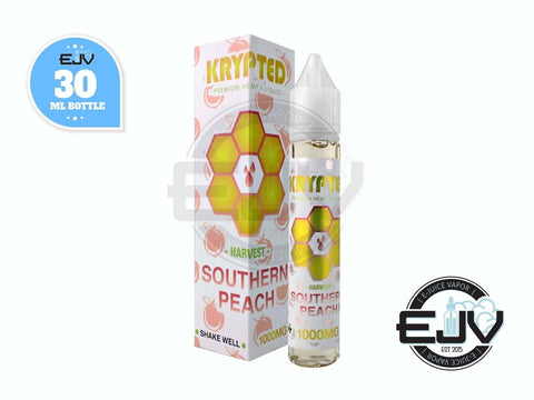 Southern Peach by Krypted CBD Vape Juice 30ml