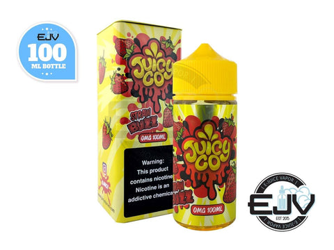 Straw Buzz by Juicy Co 100ml
