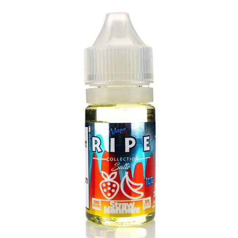 Straw Nanners On ICE by Ripe Collection Salts 30ml Nicotine Salt Vape 100 Salts