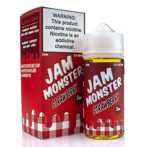 Strawberry by Jam Monster 100ml E-Juice Jam Monster