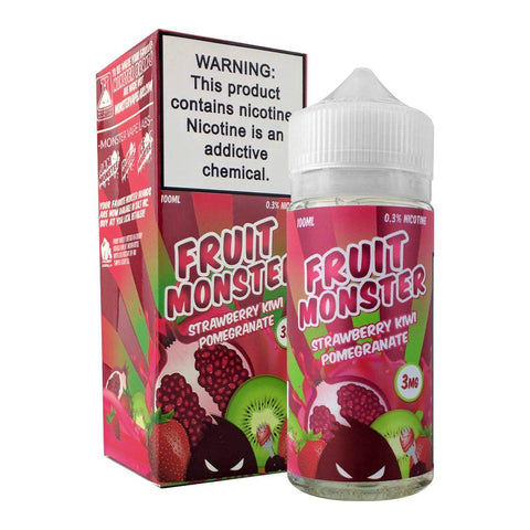 Strawberry Kiwi Pomegranate by Fruit Monster E-Liquid 100ml E-Juice Fruit Monster E-Liquid