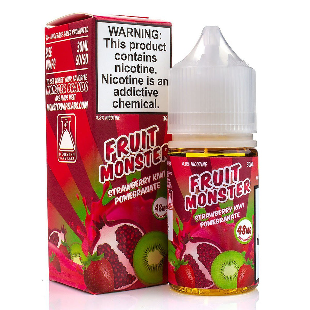 Strawberry Kiwi Pomegranate by Fruit Monster Salt 30ml Nicotine Salt Fruit Monster Salt