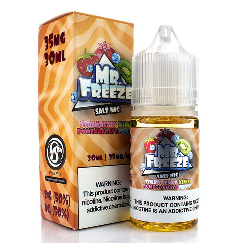 Strawberry Kiwi Pomegranate Frost by Mr. Freeze Salt Nic 30ml Nicotine Salt Mr. Freeze Salt Nic