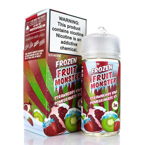Strawberry Kiwi Pomegranate Ice by Frozen Fruit Monster 100ml E-Juice Frozen Fruit Monster