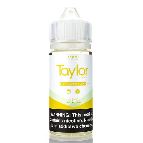 Strawberry Lem by Taylor E-Liquid 100ml E-Juice Taylor