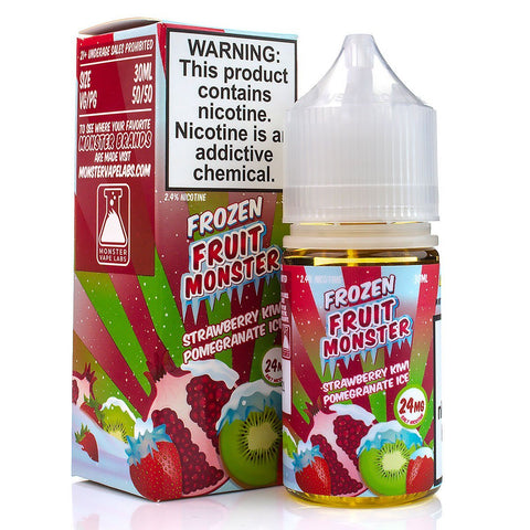 Strawberry Kiwi Pomegranate Ice by Frozen Fruit Monster Salt 30ml Nicotine Salt Frozen Fruit Monster Salt