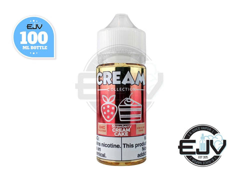 Strawberry Cream Cake by Cream Collection 100ml E-Juice Cream Collection
