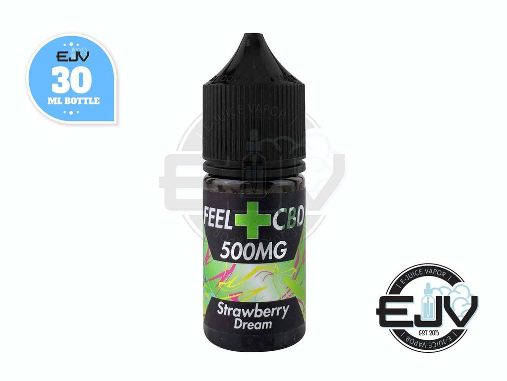 Strawberry Dream by Feel CBD Liquid 30ml CBD Feel CBD Liquid