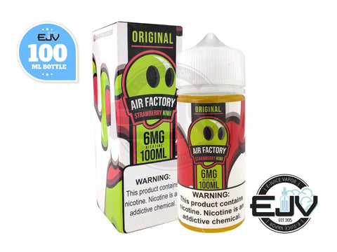 Strawberry Kiwi EJuice by Air Factory 100ml E-Juice Air Factory