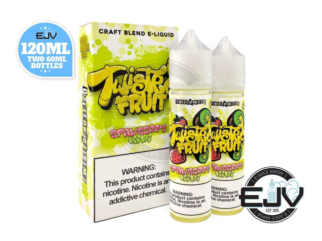 Strawberry Kiwi by Twisted Fruit 120 E-Liquid 120ml Discontinued Discontinued
