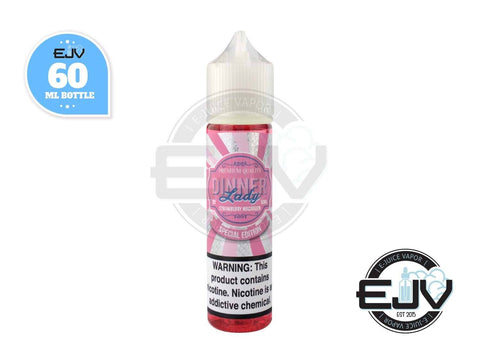 Strawberry Macaroon by Dinner Lady 60ml