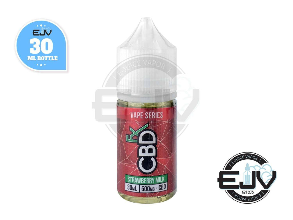 Strawberry Milk Vape Juice by CBDfx 30ml CBD CBDfx