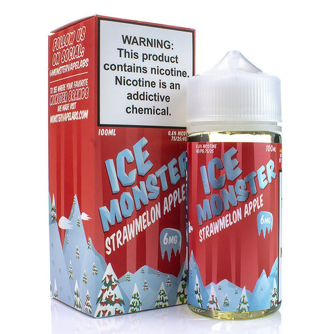 Strawmelon Apple by Ice Monster 100ml E-Juice Jam Monster