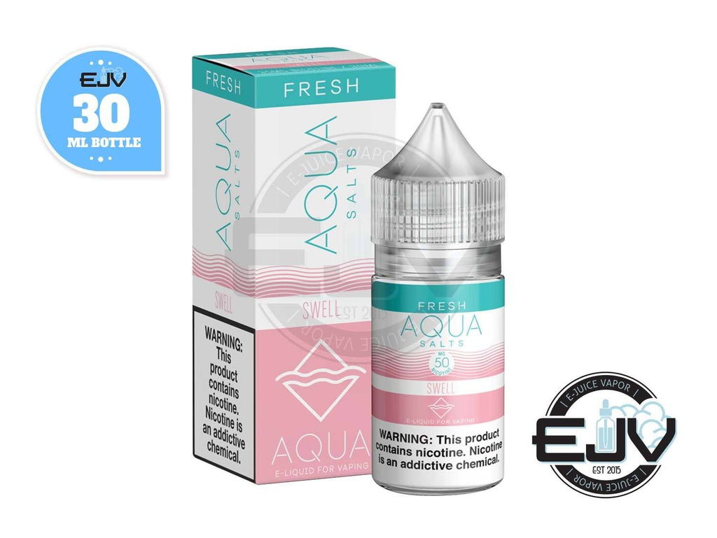 Swell (Sour Melon) by AQUA E-Juice Salts 30ml Nicotine Salt AQUA E-Juice Salts