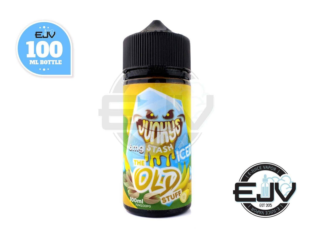 The Old Stuff Ice by Junky Stash E-Liquid 100ml Clearance E-Juice Junky Stash E-Liquid