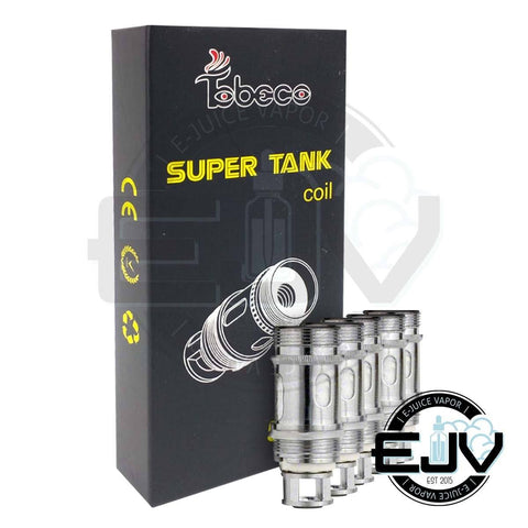 Tobeco Super Tank Replacement Coils - (5 Pack) Replacement Coils Tobeco