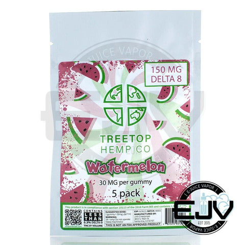 Treetop Hemp Co Delta 8 Gummies Delta 8 Treetop Hemp Co Watermelon 150mg (5CT)